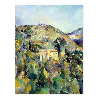 Postal Opinión de Paul Cezanne el Domaine San José