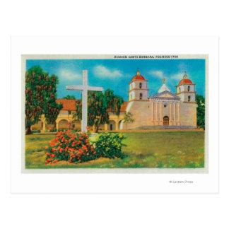 Postal Opinión de Santa Barbara de la misión