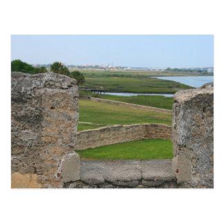 Postal Opinión de St Augustine del castillo