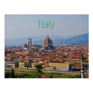 Postal Opinión del Duomo de Florencia Italia
