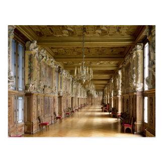Postal Opinión el Galerie Francois I, 1528-40