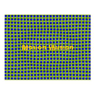 Postal óptica de la ilusión del movimiento