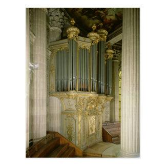 Postal Órgano en la capilla