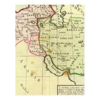 Postal Oriente Medio, Turquía, Irán