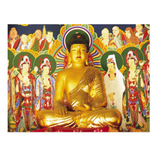 Postal Oro Buda