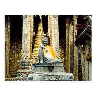 Postal oro de Bangkok