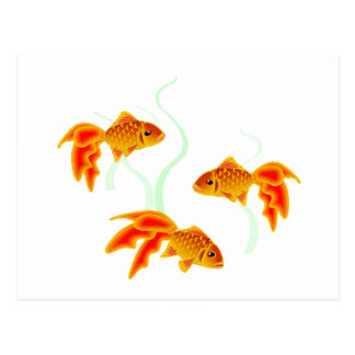 Postal Oro Fishies