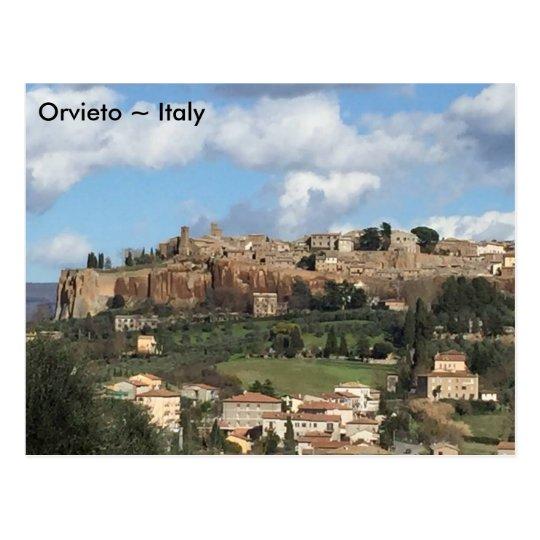 Postal Orvieto, Italia