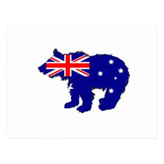 "Postal Oso Cub ""Australia """