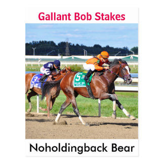 Postal Oso de Noholdingback - participaciones galantes de