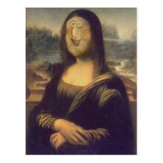 Postal Otra Mona Lisa
