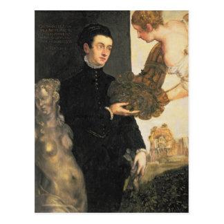 Postal Ottavio Strada, diseñador de la joyería
