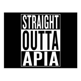 Postal outta recto Apia