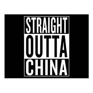 Postal outta recto China