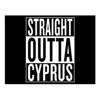 Postal outta recto Chipre