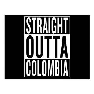 Postal outta recto Colombia
