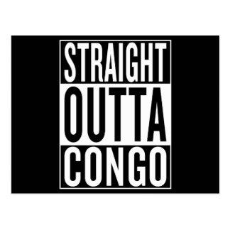 Postal outta recto Congo