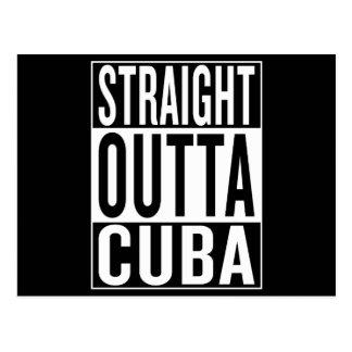 Postal outta recto Cuba