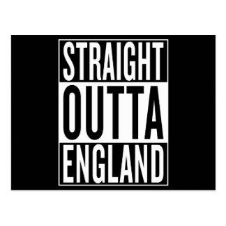 Postal outta recto Inglaterra