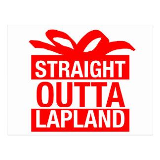 Postal Outta recto Laponia