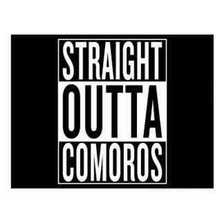 Postal outta recto los Comoro