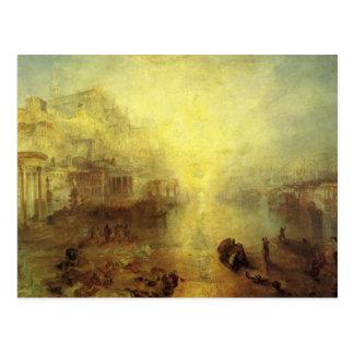 Postal Ovid Banished de Roma