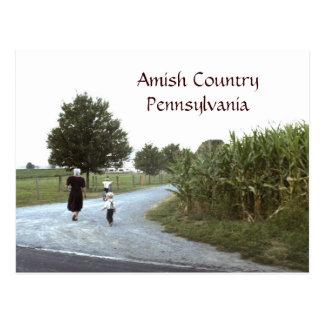 Postal PA de Pennsylvania del país de Amish