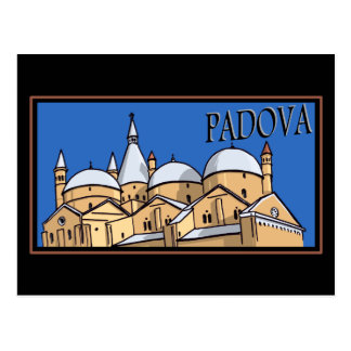 Postal Padua - estilo del tronco del vapor