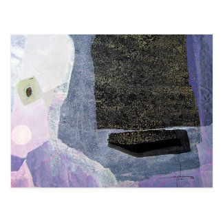 Postal Paisaje abstracto de Potosi Bolivia 22x23.9