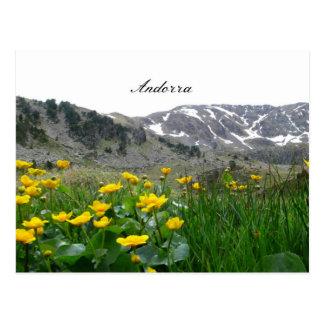 Postal Paisaje de Andorra