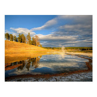 Postal Paisaje de Yellowstone