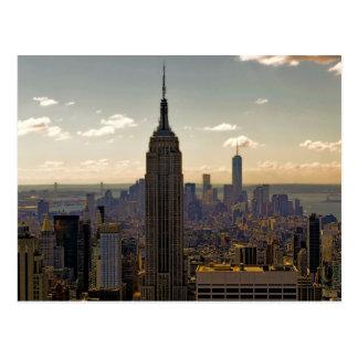 Postal Paisaje del Empire State Building