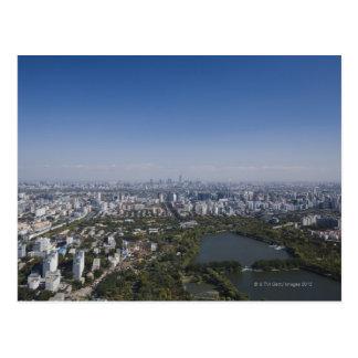 Postal Paisaje urbano de Pekín