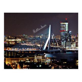 Postal Paisaje urbano de Rotterdam