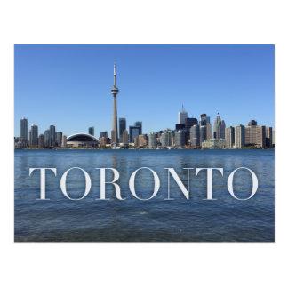 Postal paisaje urbano de Toronto