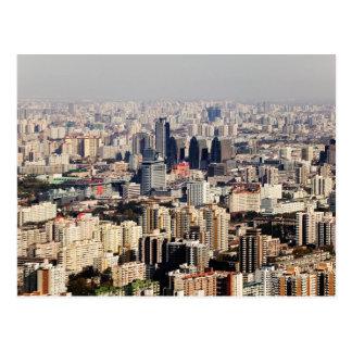 Postal Paisaje urbano elevado de Pekín
