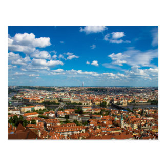 Postal Paisaje urbano en Praga