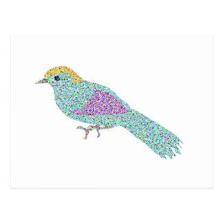 Postal Pájaros del inconformista