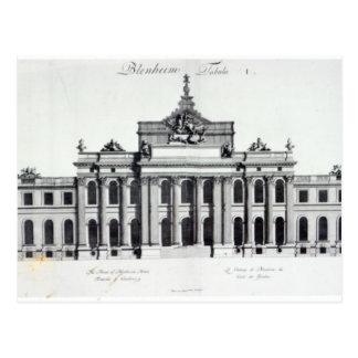 Postal Palacio de Blenheim
