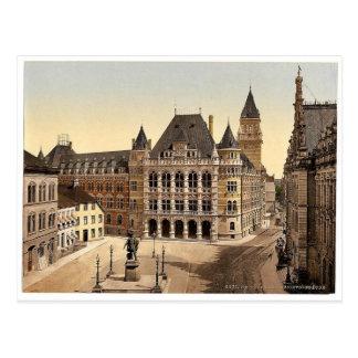 Postal Palacio de la justicia, Bremen, Alemania Pho
