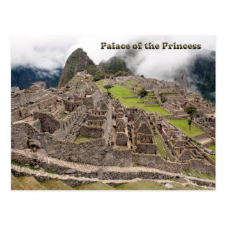 Postal Palacio de la princesa - Perú