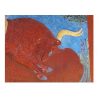 Postal Palacio de Minoan de Knossos RED BULL