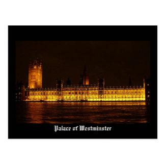 Postal Palacio de Westminster