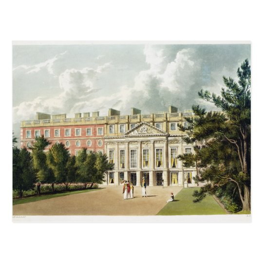 Postal Palacio del Hampton Court, 'de la historia del Roy
