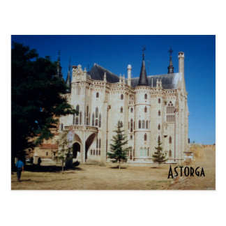 Postal Palacio episcopal - Astorga