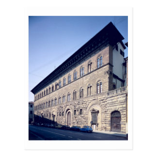 Postal Palazzo Medici-Riccardi, comenzado 1444 (foto)
