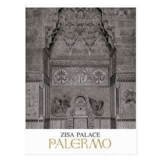 Postal Palermo - palacio de Zisa