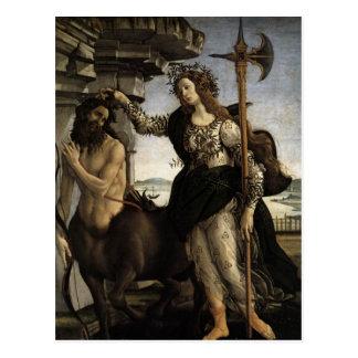 Postal Pallas y el Centaur