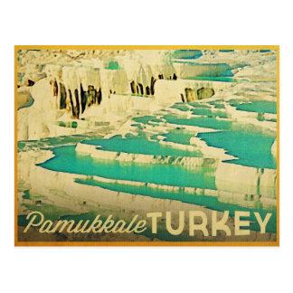 Postal Pamukkale Turquía