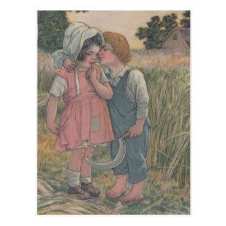 Postal Pan de Betsy Ross que hace publicidad de la